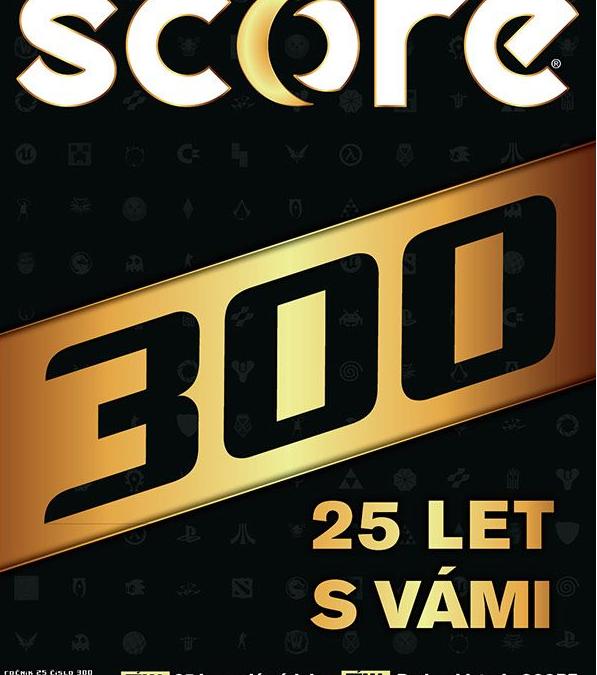 Score slaví 300!