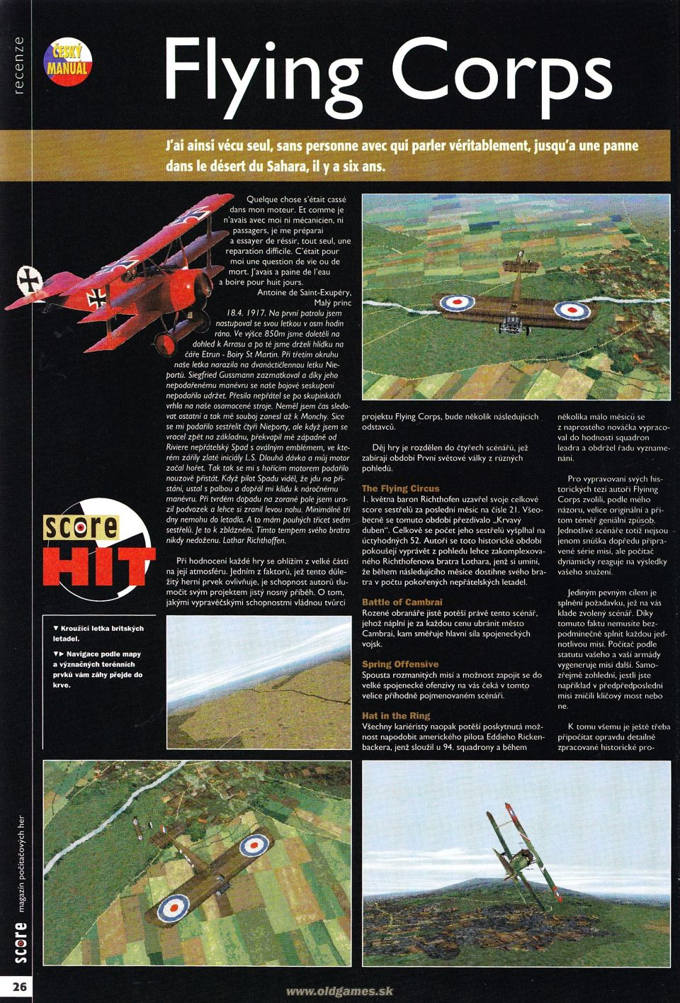 Flying Corps review